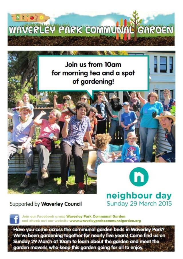Neighbour day invite